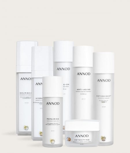 Ageless Club Start up Pack consisting of Annod's Anti Ageing Product Range