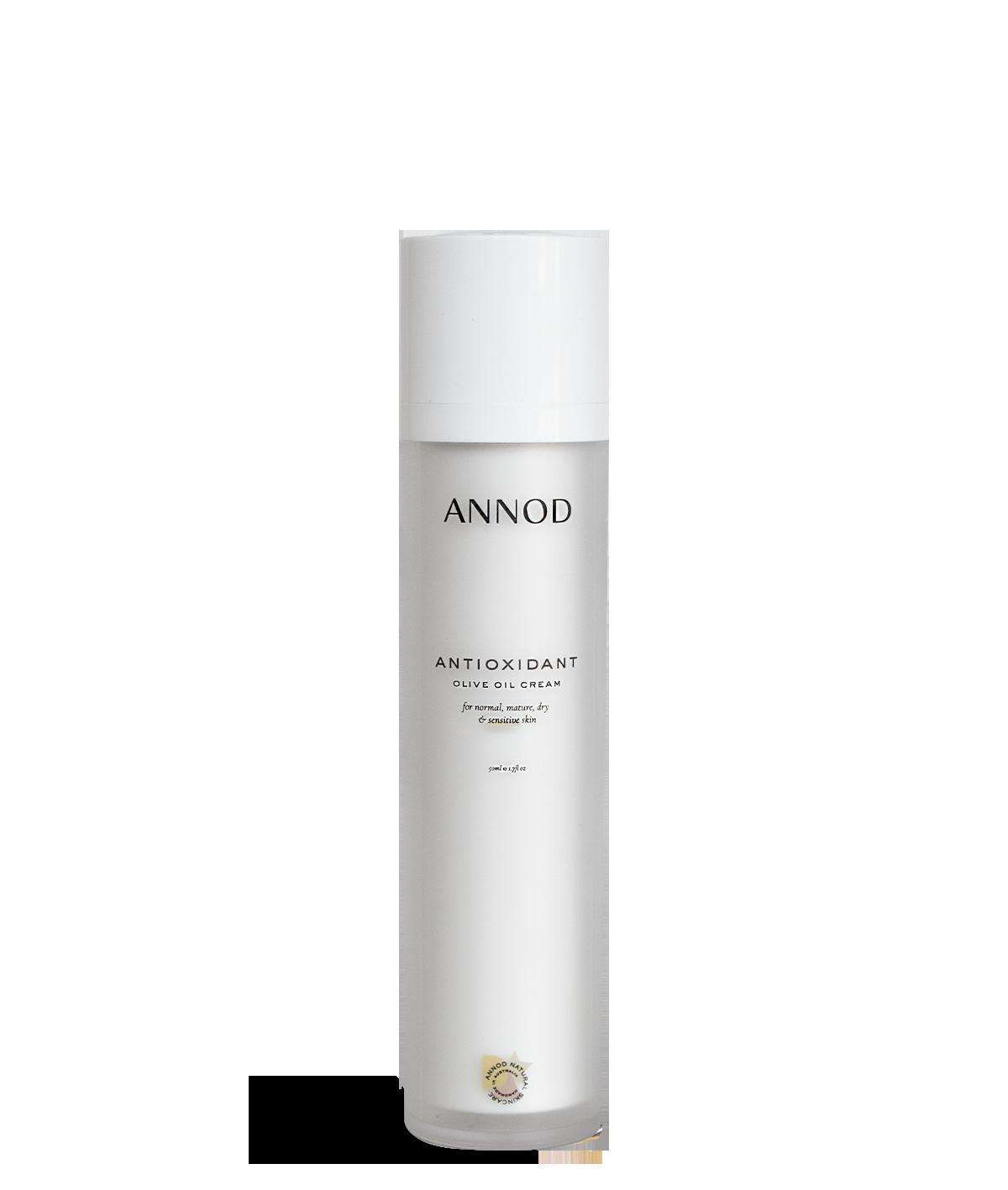 BEST FACE MOISTURISER FOR DRY SENSITIVE Skin. Anti-Oxidant Olive Oil Cream, 50 ml