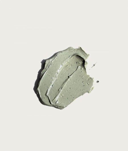 Texture of Balancing Green Clay Mask