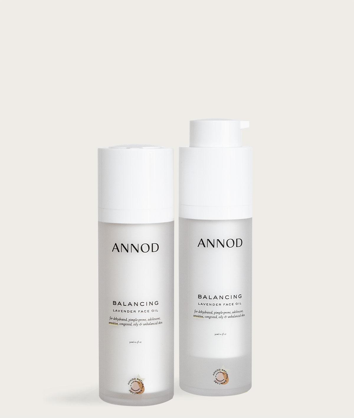 A set of Balancing Lavender Face Oils, 30 ml