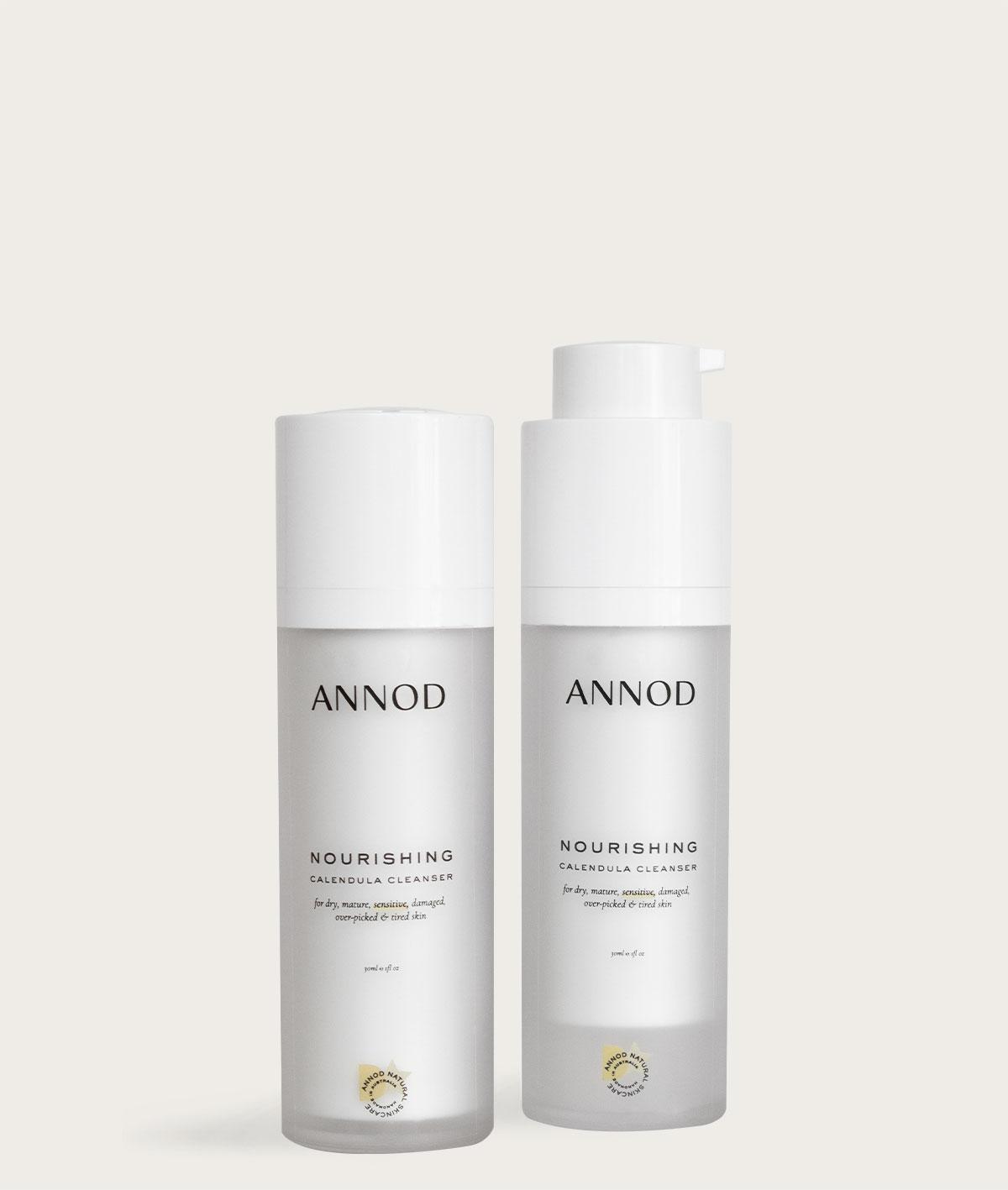 A set of two Nourishing Calendula Cleansers,100ml