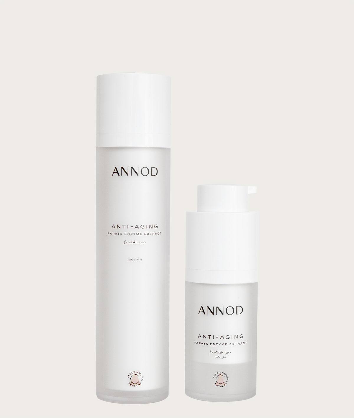 A set of Anti Aging Papaya Enzyme Extract, 50ml and 15ml
