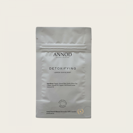 Detoxifying Organic Lemon Exfoliant - Deluxe Trial Size